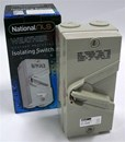 NLS - Three Pole 63Amp 250v Isolating Switch (IP56 Rated) - 30258 