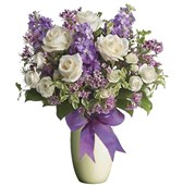 Purples and Whites, Bunches From $55