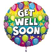 Best Wishes & Get Well Soon Balloon