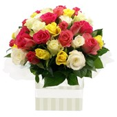 Beautiful Rose Arrangement  - your choice of colours