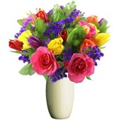 Bright Mixed Flowers, Bunches From $55