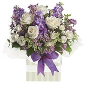 Purples and Whites, Arrangements From $65
