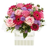 Roses and Gerberas, Arrangements From $65