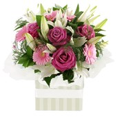Roses, Gerberas and Lilies, Arrangements From $65