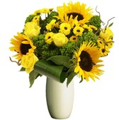 Bright Yellow Mixed Bunch, From $55