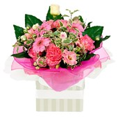 Stunning Pink Flower Arrangement From $65