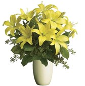 Yellow Lilies, Bunches From $55
