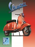 Vespa Scooter - A3 Sign