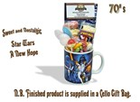 Star Wars - 'A New Hope' Mug with/without a intergalactic selection of 70's retro sweets