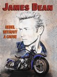 James Dean - Rebel without a Cause A3 Sign
