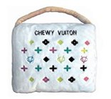 Chewy Vuiton Coloured Designer Pet Bed