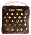 Classic Chewy Vuitton Mono Designer Pet Bed 