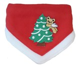 Christmas Pet Collar Scarf with Tree by Coco & Pud