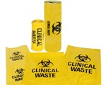 Medical and Clinical Waste Bags High Density x 500pcs