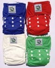 Bamboonies Supernatural Velcro Pocket Nappy
