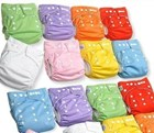 One Size Fits Most Pocket Nappy with Snaps
