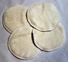 Bamboo Nursing Pads Non Waterproof – Set of 4