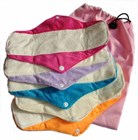 Bamboo Sanitary Menstrual Pad Pack - Minky