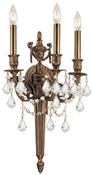 Crystorama Arlington Swarovski Wall Sconce 753-MB-CL-S