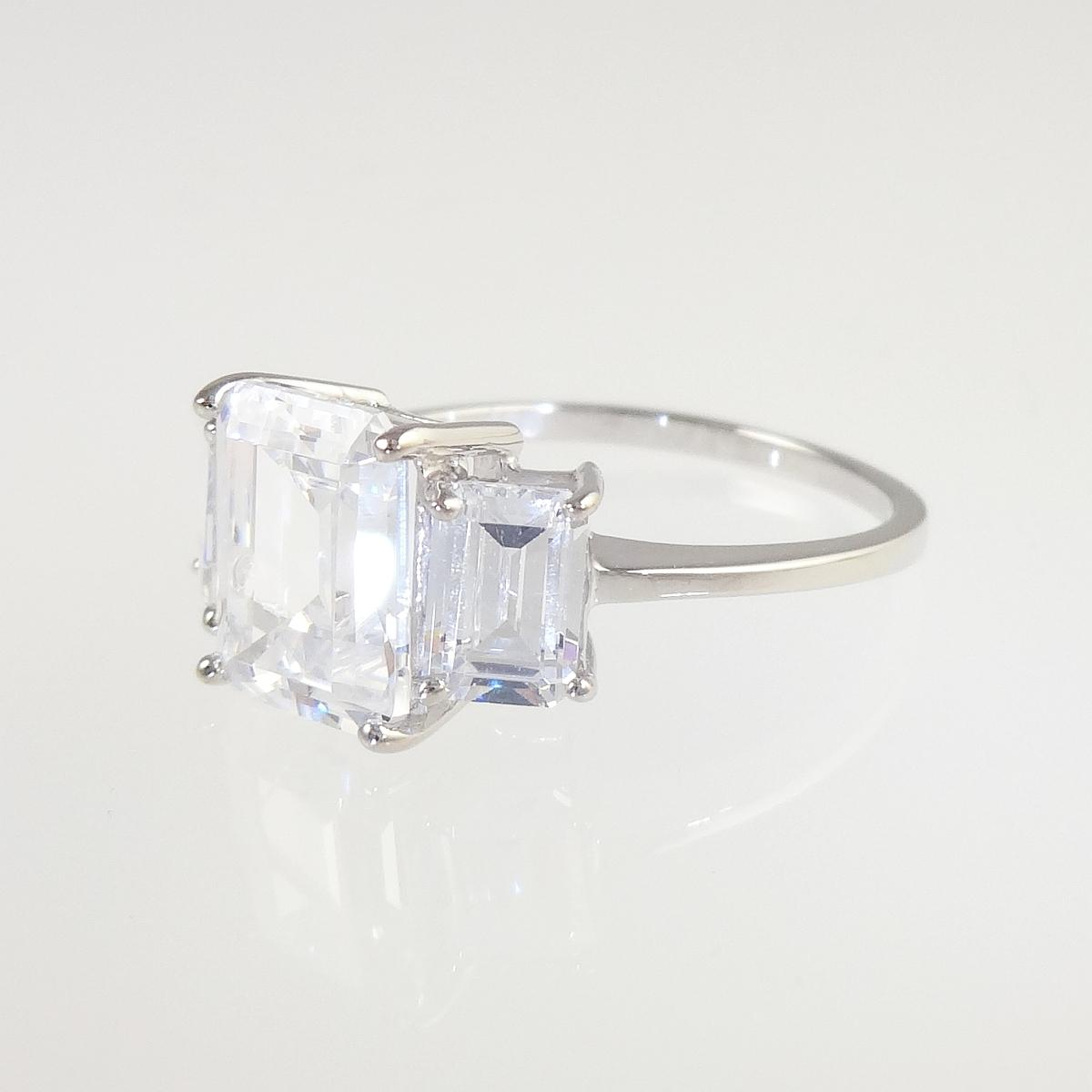 classic square cut engagement ring heavenly necklaces