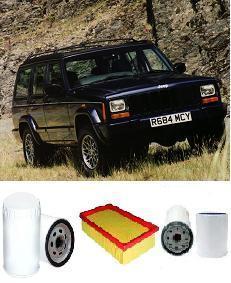 kit9800 filter kit jeep cherokee xj 2 5l crd vm engine. Black Bedroom Furniture Sets. Home Design Ideas