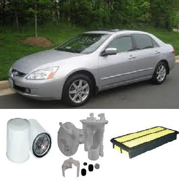 kit3524 filter kit honda accord 3 0l 3l v6 06 2003 2008 40