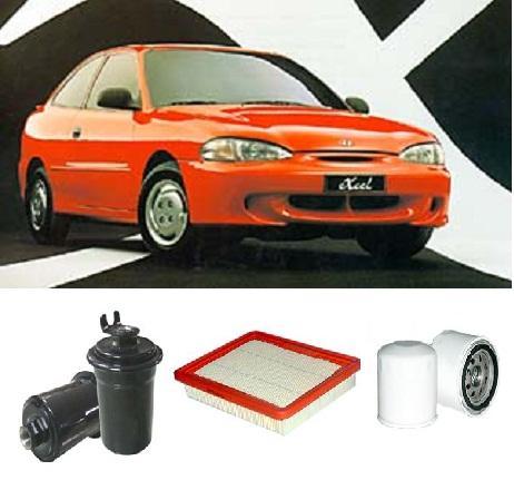 kit5004 filter kit hyundai excel 1 5l efi 1994 2001 oil. Black Bedroom Furniture Sets. Home Design Ideas