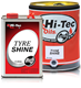 HT7002-005 5 LTR TYRE SHINE SILICONE BASED BRETTS TIRE HI-TECH HITECH TRYE SILICONE SHINE