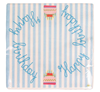 Paper Napkins, Happy Birthday Blue