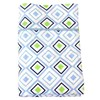 Habitat Baby, Geo Fitted Sheet Set Diamond (Cot)