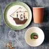 Love Mae 'Pirate Feast' BAMBOO dinnerware set