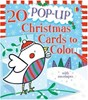20 Pop-up Christmas Cards to Colour in