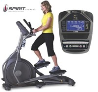 Spirit Fitness XE395 Light Commercial Incline Elliptical Trainer