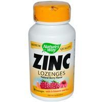 Zinc Lozenges Natural Berry Flavor 60 Lozenges