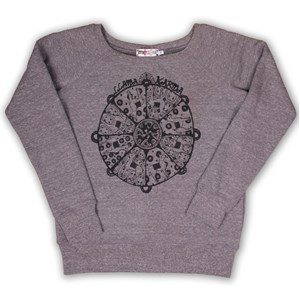 Llama Karma Slouch Sweat