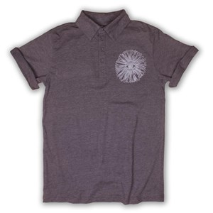 Eye Flower Polo Shirt