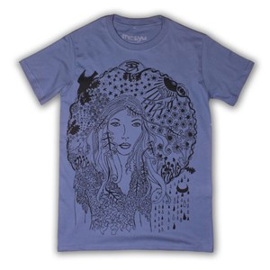 Illustrated Lady T-Shirt