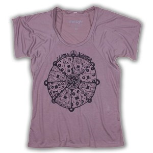 Llama Karma  Flowy T-Shirt