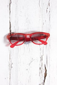 Red vintage sunglasses