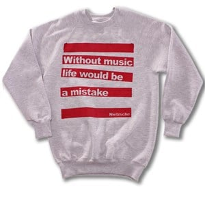 Without Music Sweatshirt