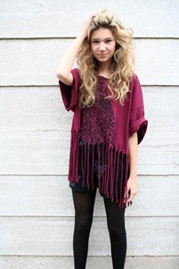 Use the Forces Tassel Top