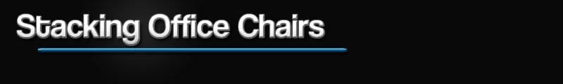 Kellys Office Furniture has a wide range of stacking office chairs at competitive prices