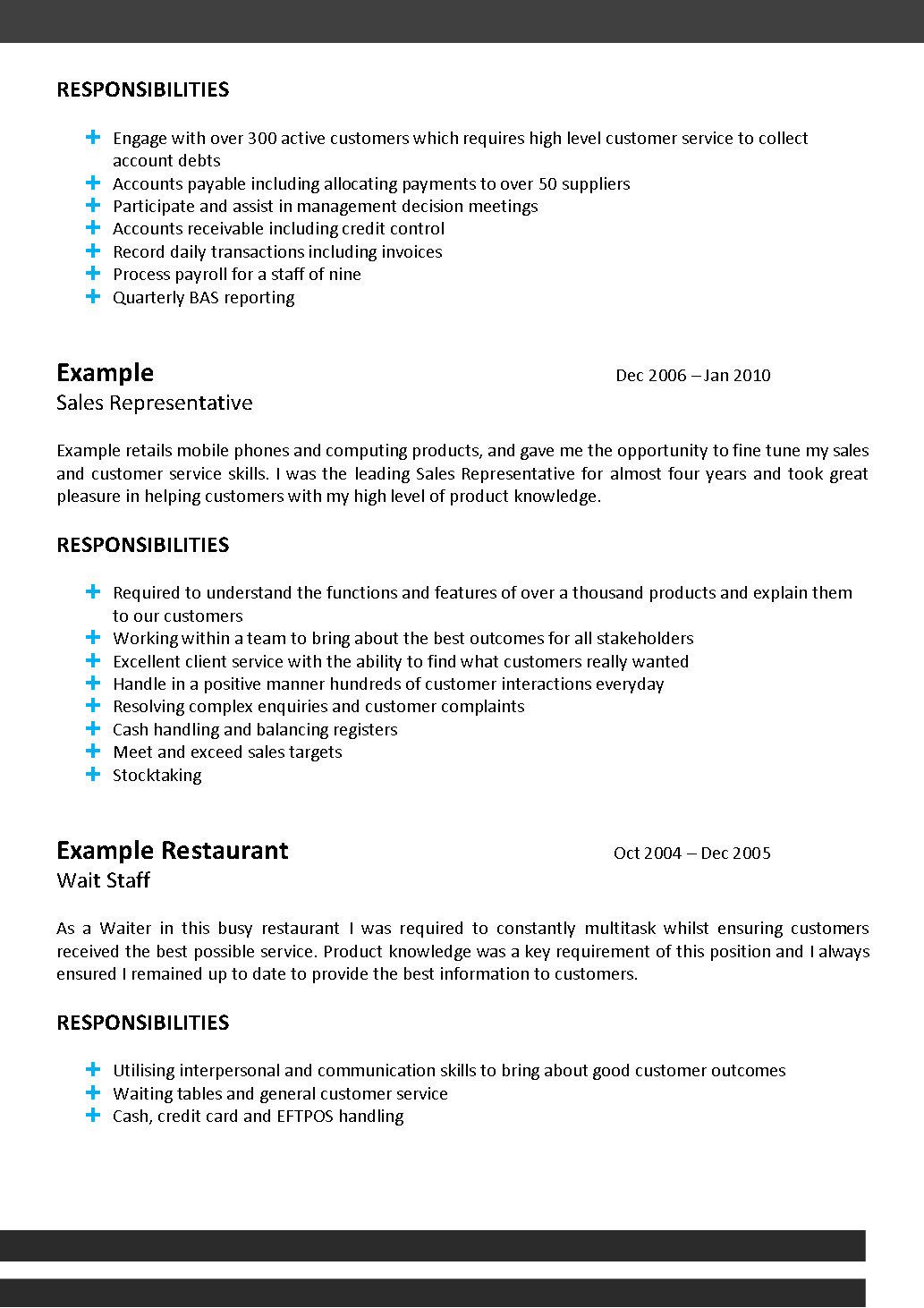 Free Resume Review from The Resume Centre
