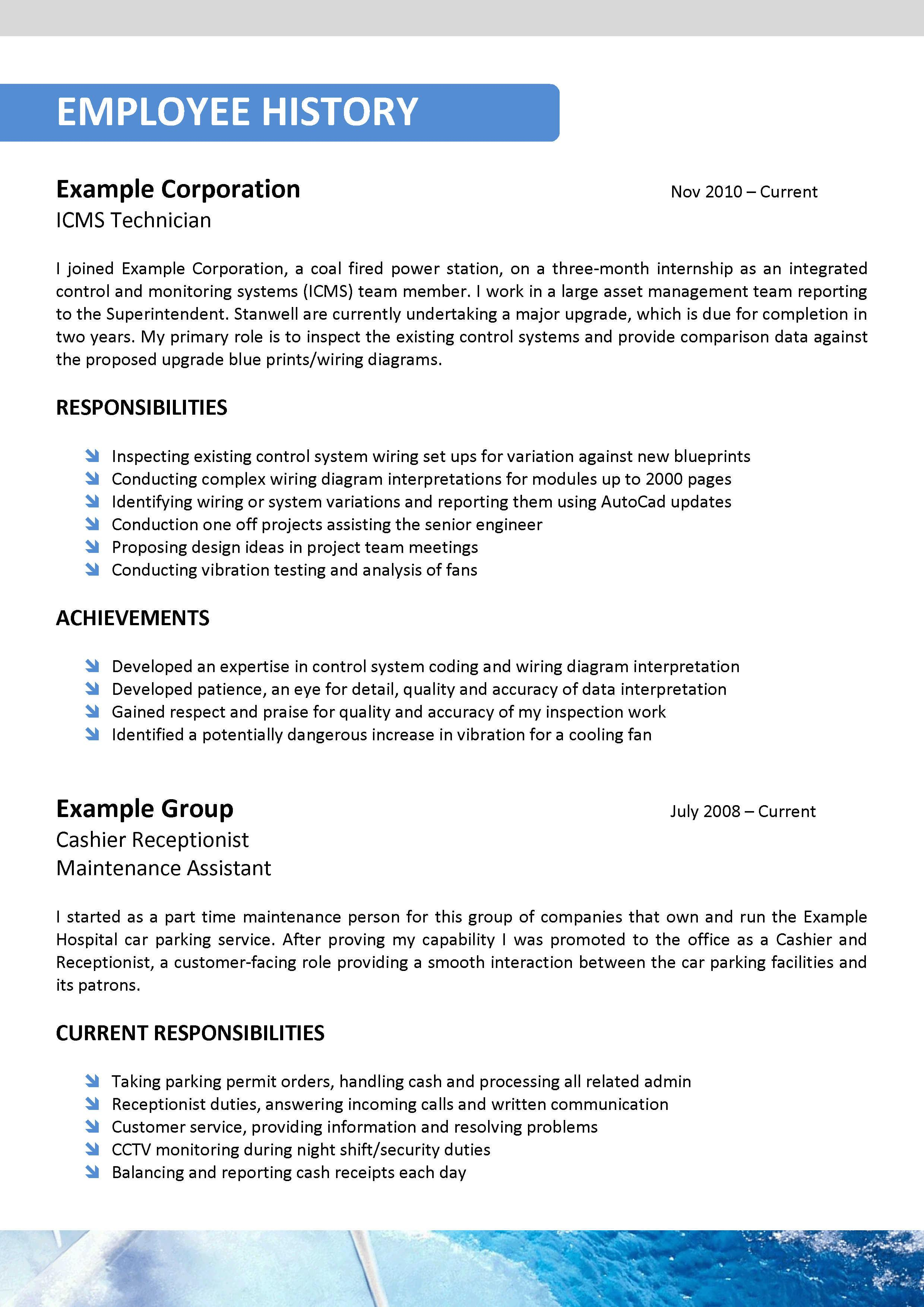 resume wizard in word 2007 same resume different race