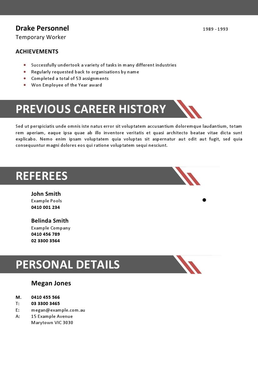 hospitality industry resume format resume example entry level