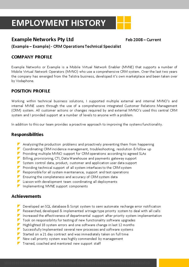Hand Our Essay In As Your Own With Confidence Crm Resume Sample