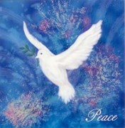 Dove of Peace Blue
