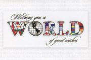Wishing you a WORLD of difference
