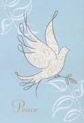 Glittery Dove of Peace