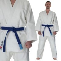 White 'Ippon' Competion Judo Uniform